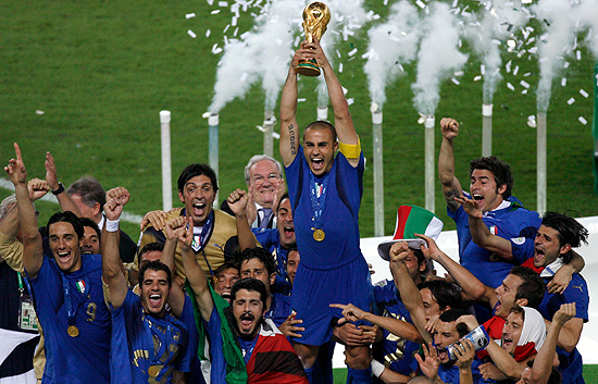 Italia campeón del mundo en Alemania 2006