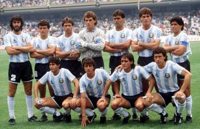Argentina campeón del mundo en México 1986