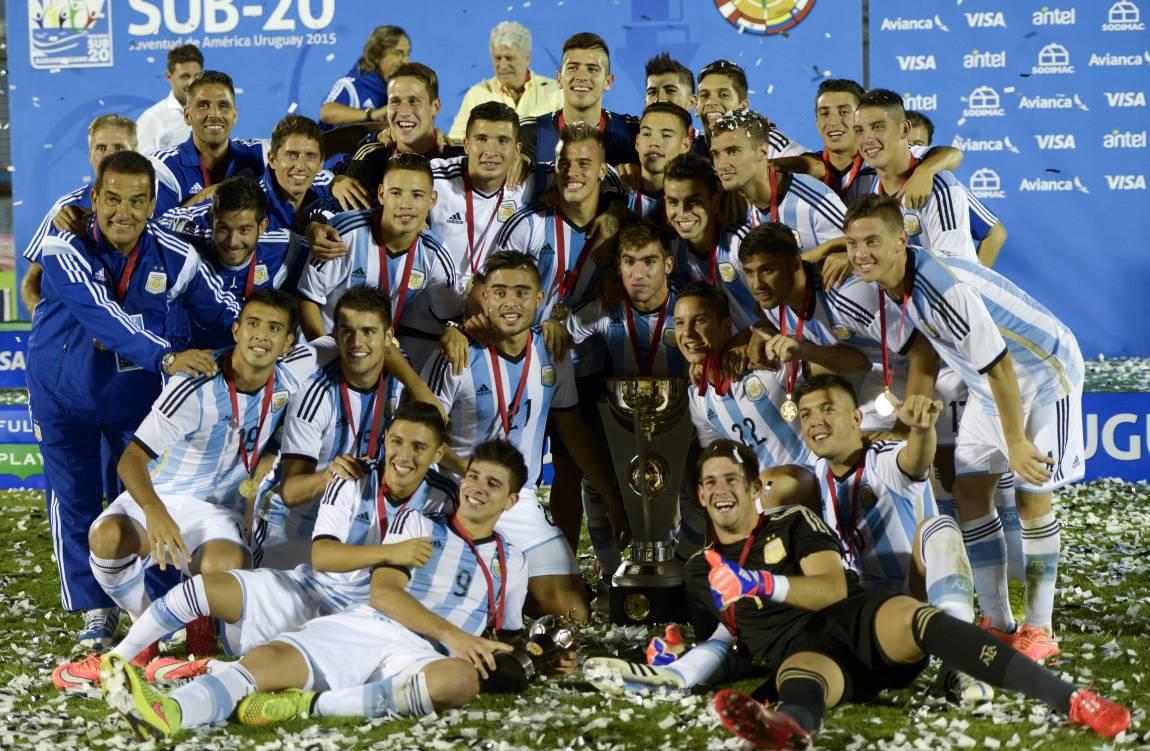 Sudamericano Sub 20: Sub20: Argentina Suma 5 Títulos En El Palmarés