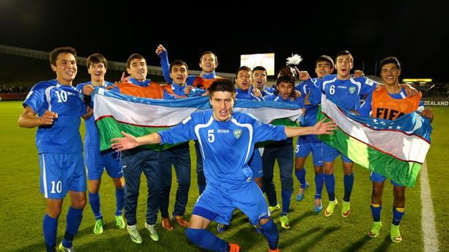 Uzbekistán venció a Austria por 2 a 0 en el Mundial Sub20