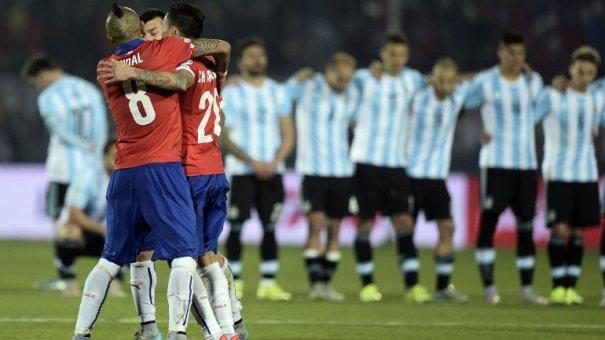 Chile se consagró campeón de la Copa América al vencer a Argentina por penales