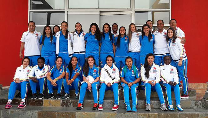 Selección Colombia Femnina a Juegos Olimpicos