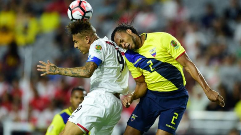 Perú Ecuador Copa América Centenario
