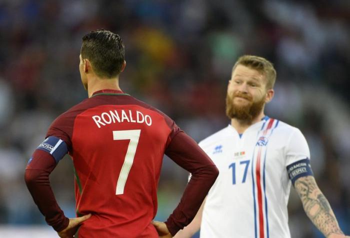 Portugal Islandia Cristiano Ronaldo Eurocopa