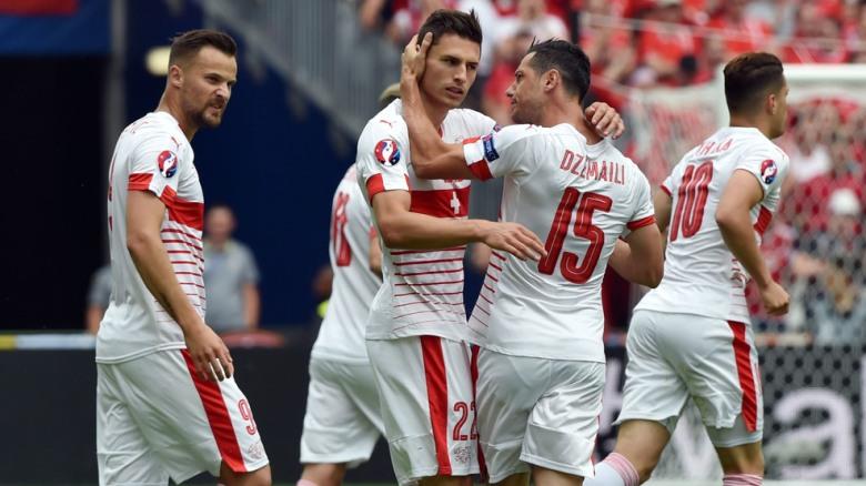 Suiza Albania Eurocopa 2016