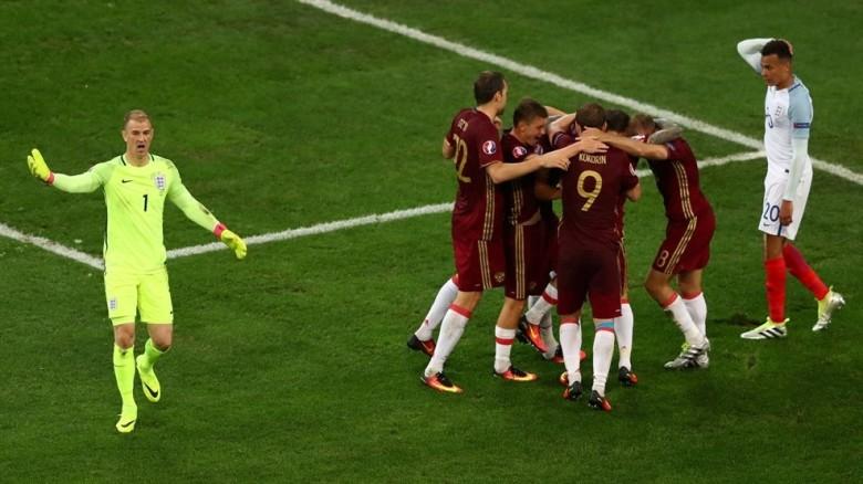 Rusia Inglaterra Eurocopa 2016