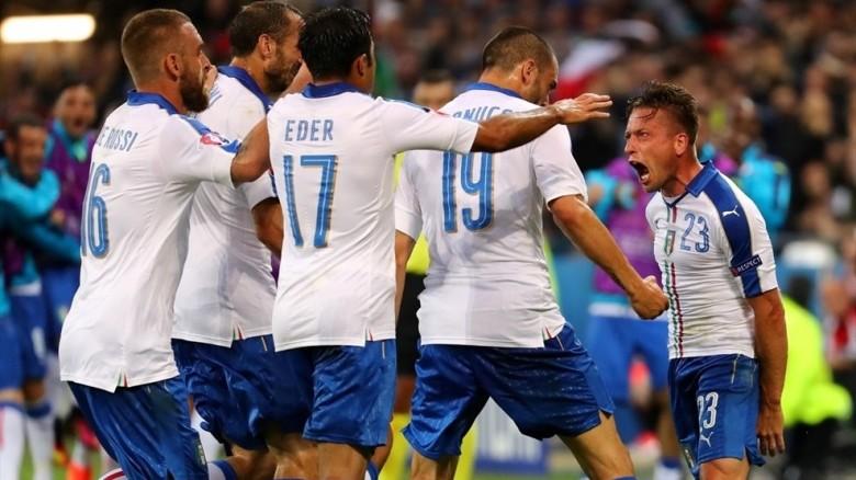 Italia Bélgica Eurocopa 2016