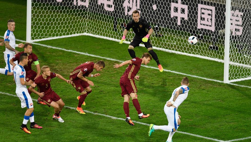 Eslovaquia Rusia Eurocopa 2016