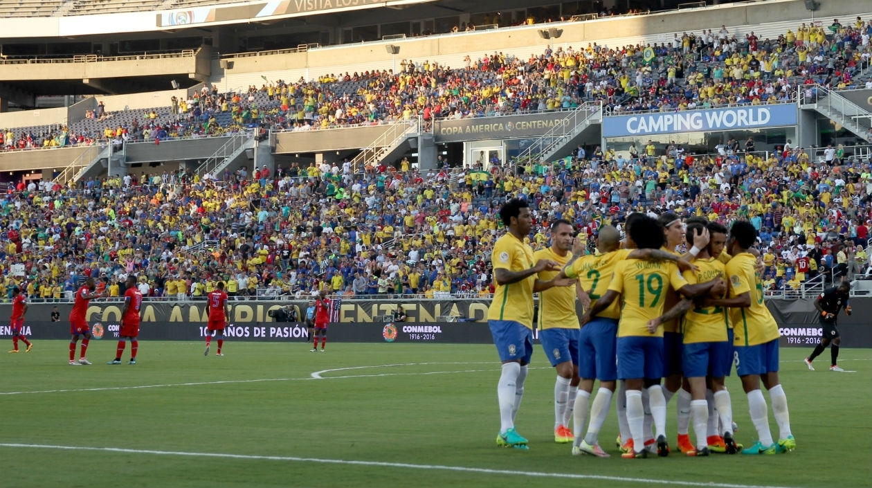 Brasil Haití Copa América Centenario 2016