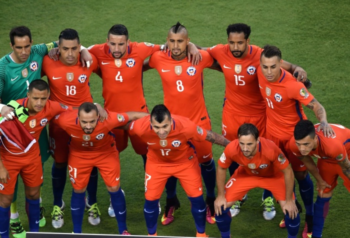 Chile Copa América Centenario Argentina