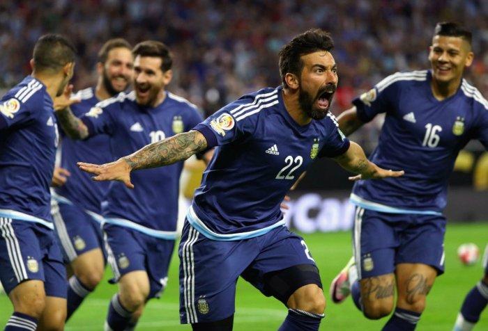 Argentina Lavezzi Estados Unidos Copa América 2016