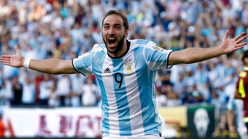 Argentina Venezuela Higuaín Copa América