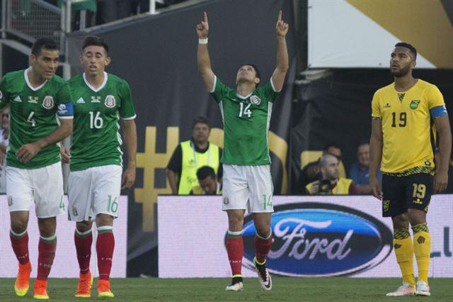 México Jamaica Copa América Centenario