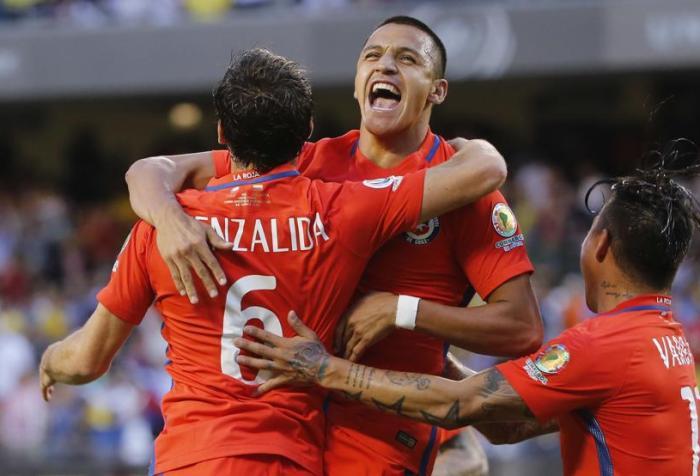 Chile Colombia Copa América Centenario