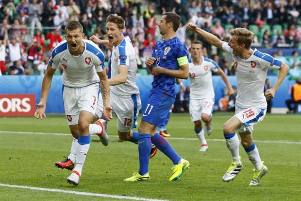 Croacia República Checa Eurocopa 2016