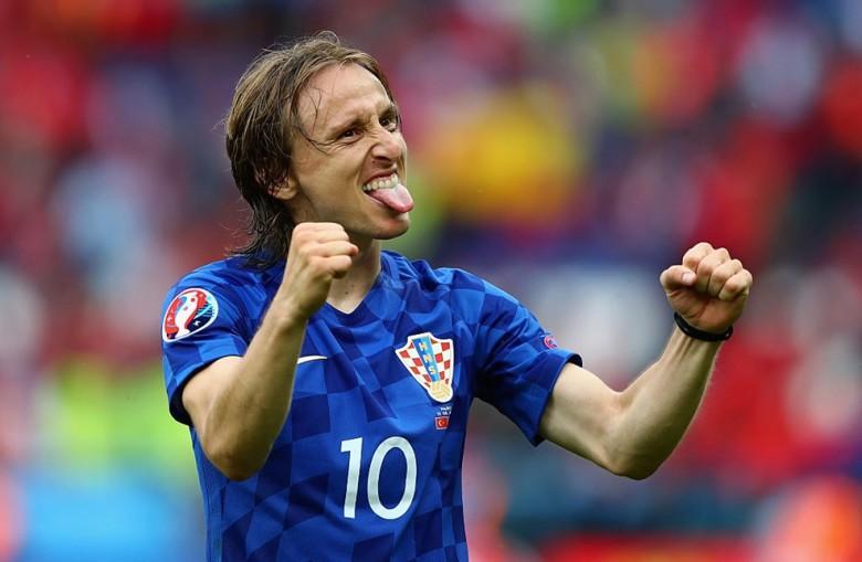 Croacia Turquía Eurocopa 2016 Modric