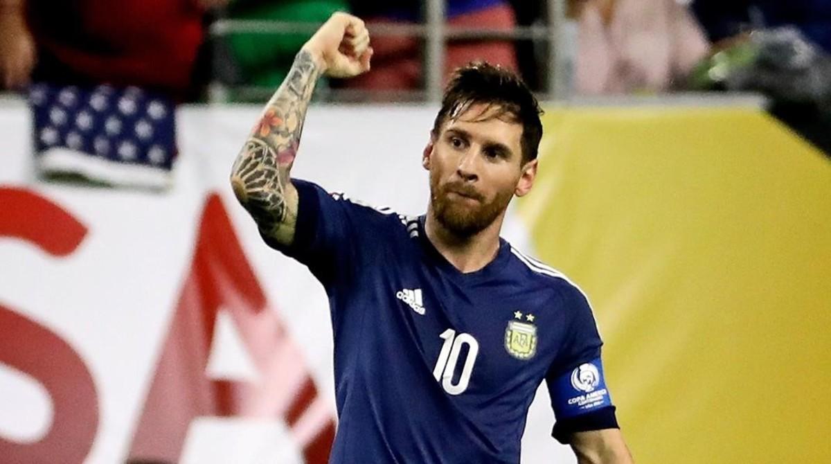 Soccer  2016 Copa America Centenario-Argentina at USA