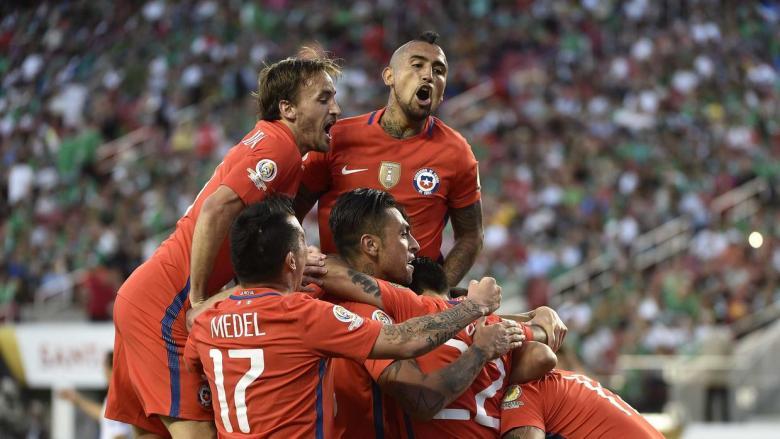 México Chile Copa América Centenario