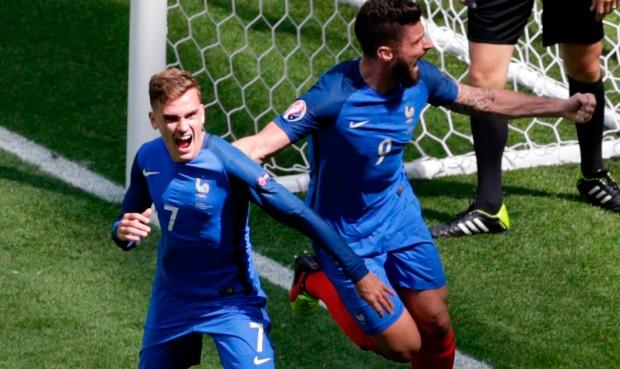 Francia Griezmann Irlanda Eurocopa