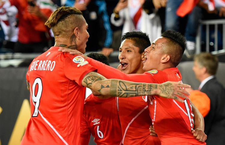 Perú Brasil Copa América Centenario 2016