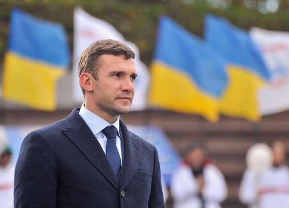 Ucrania Andreyi Shevchenko