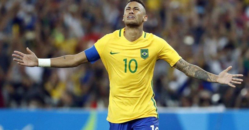 Neymar Brasil Río 2016