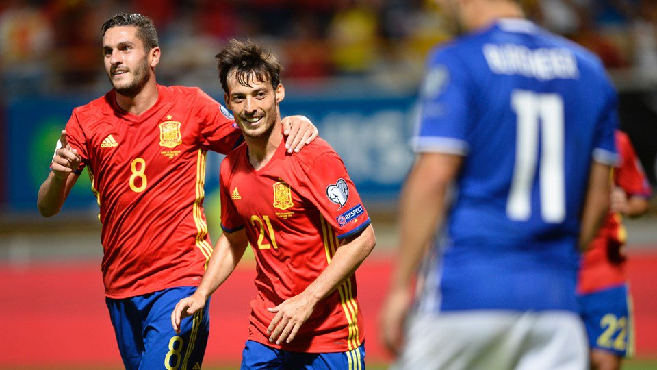 España Liechtenstein Eliminatorias Rusia 2018 Europa