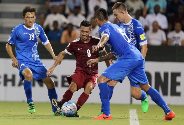 Uzbekistán Qatar Rusia 2018 Asia