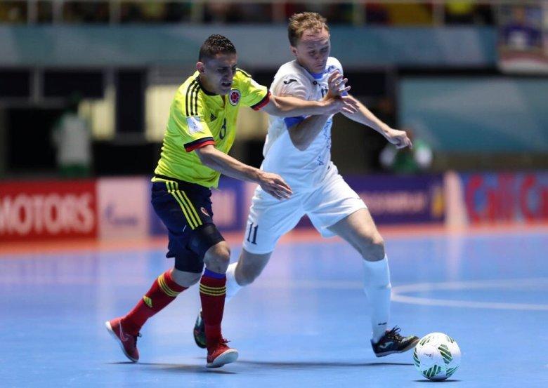 Colombia Uzbekistán FIFA Mundial Futsal