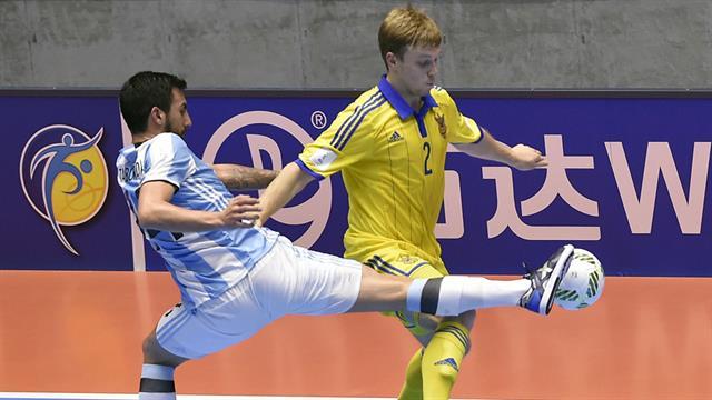 Argentina Futsal Mundial Colombia